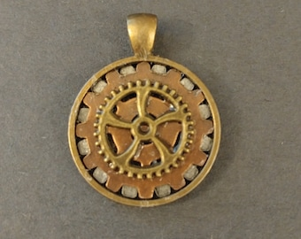 Concentric Gears Amulet