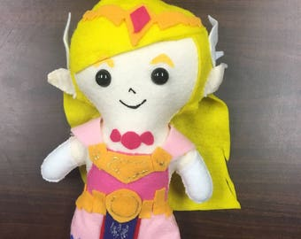 Zelda Felt Doll