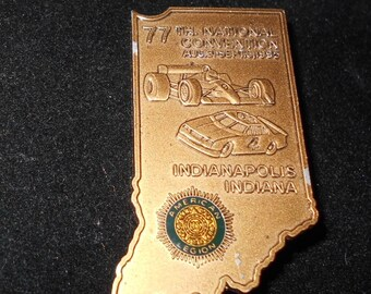 77th National Convention Pin American Legion 1995 Indianapolis Indiana