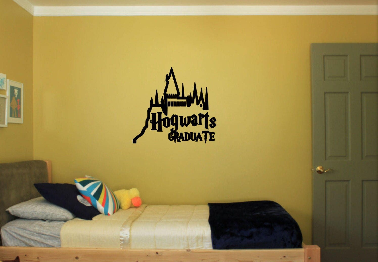 Hogwarts Graduate Vinyl Decal Sticker Attach to Any Smooth