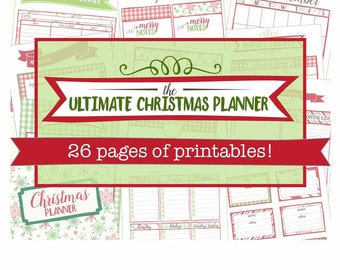 The Ultimate Christmas Planner // printable holiday organizer