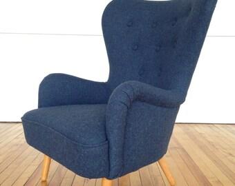 Ernest Race DA1 armchair for bespoke reupholstery