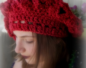 Renaissance Medieval Slouchy Hat Choose Your Color