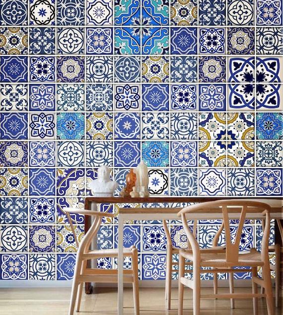 Azulejos Tradicionales Talavera Pegatinas Azulejos