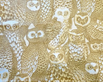 Owl Print Home Dec Fabric by Christopher Prints - What a Hoot