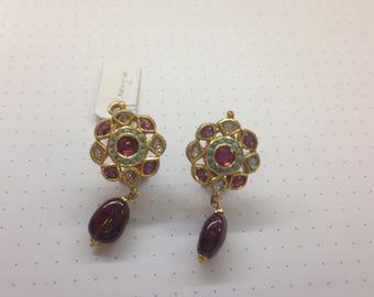 Indian Wedding Post Earrings