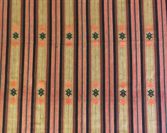 Myanmar Hand Woven Rug; Thai Textile