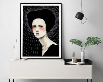 Freda by Sofia Bonati Art Print