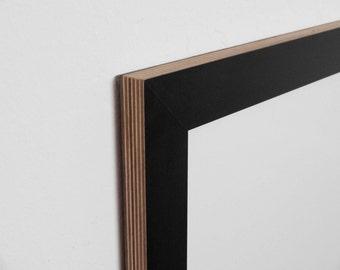 8 Frames-36 mm black plain, multiplex