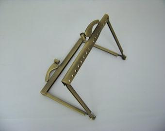 Bronze Metal Purse frame 4022