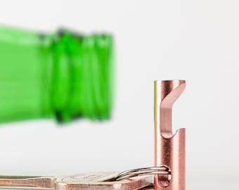 Keychain Bottle Opener - EDC Tool - CNC Bronze Keychain Tool