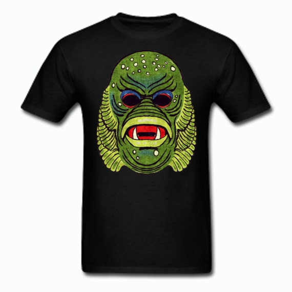 Creature from the Black Lagoon Vintage Halloween Mask kids Tee shirt