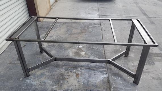 Steel Table Frame Welded Frame Rustic Table Frame Industrial