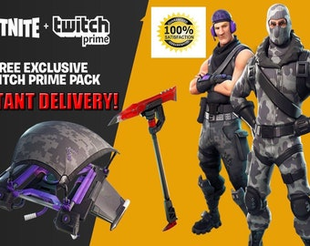 Fortnite Twitch Prime Pack - PC PS4 XBOX One (Read Description)