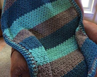 Custom Blanket-Bernat Blanket Yarn-Large