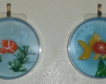 Toy Aquarium, funny decoration for the lazy fish keeper.