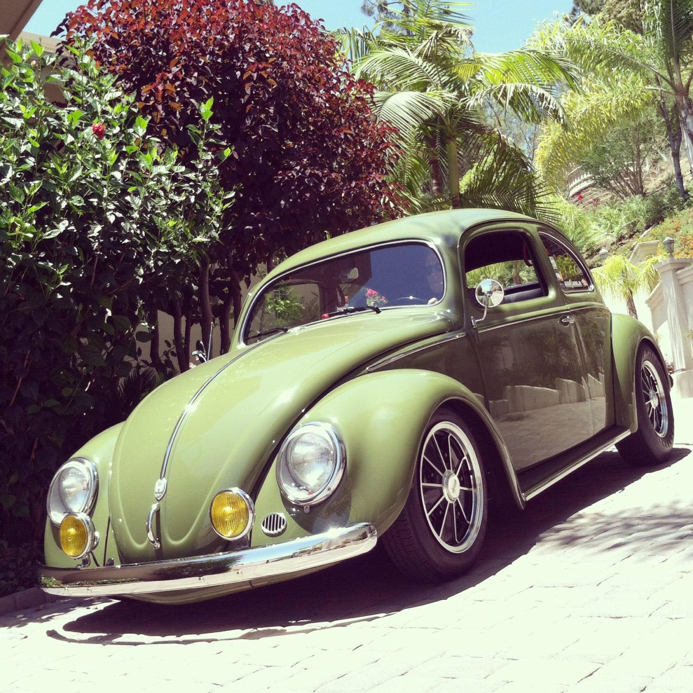 Dream Car Photograph VW bug classic car Volkswagen Beetle
