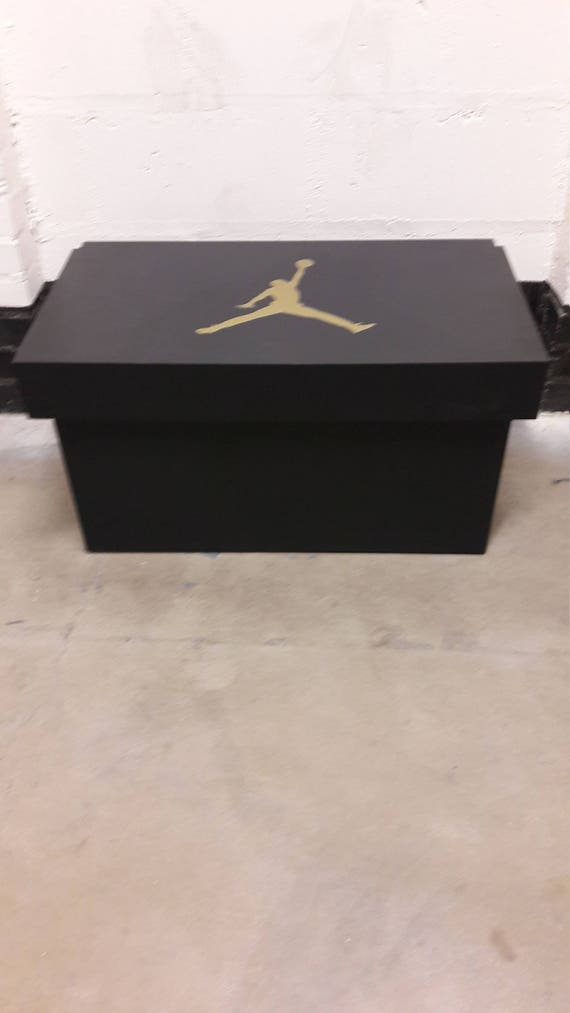 ... Awesome Site For Shopping 3534a 6f902 XL Giant Trainer Shoe Storage Box  Nike Air Jordan Fits ...