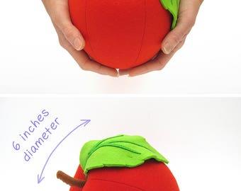 Big stuffed apple
