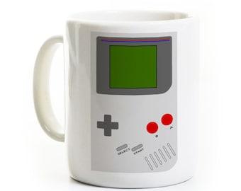 Video Game Coffee Mug - Handheld Gamer Gift - Geek Video Games