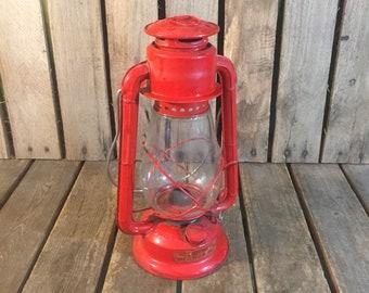 Vintage Red Dietz Junior Lantern