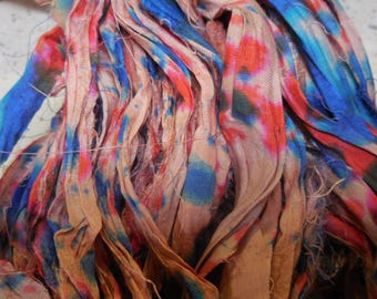 NEW Splash Ribbon,  Sari Silk Ribbon,  50 Yards,  from India