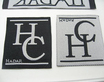 cheap 2400 text label for clothing Garment label Clothing label