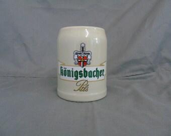 konigsbacher stoneware stein 0.4ltr
