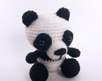 Amigurumi Panda Bear Crochet Pattern : Panda pattern amigurumi panda pattern cute panda pattern