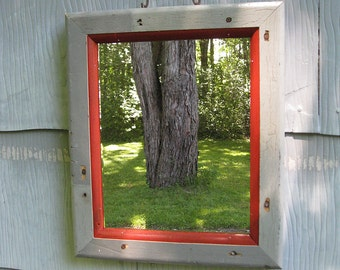 Small Rustic Mirror no.1614