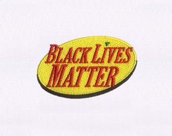 Black Lives Matter Cap Machine Embroidery Design