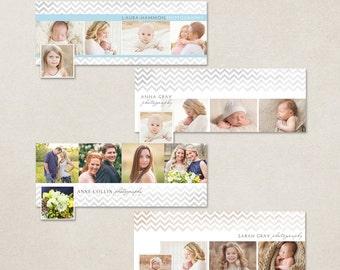 Facebook Timeline Cover Chevron Bundle - Customizable photoshop template INSTANT DOWNLOAD - Set 4