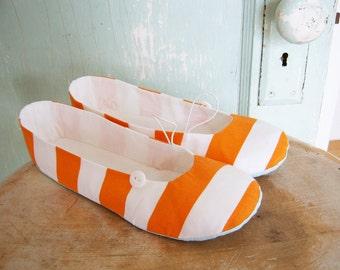 Shoe Sewing Pattern - PDF - Vintage Flair Flats women's size 5 to 11