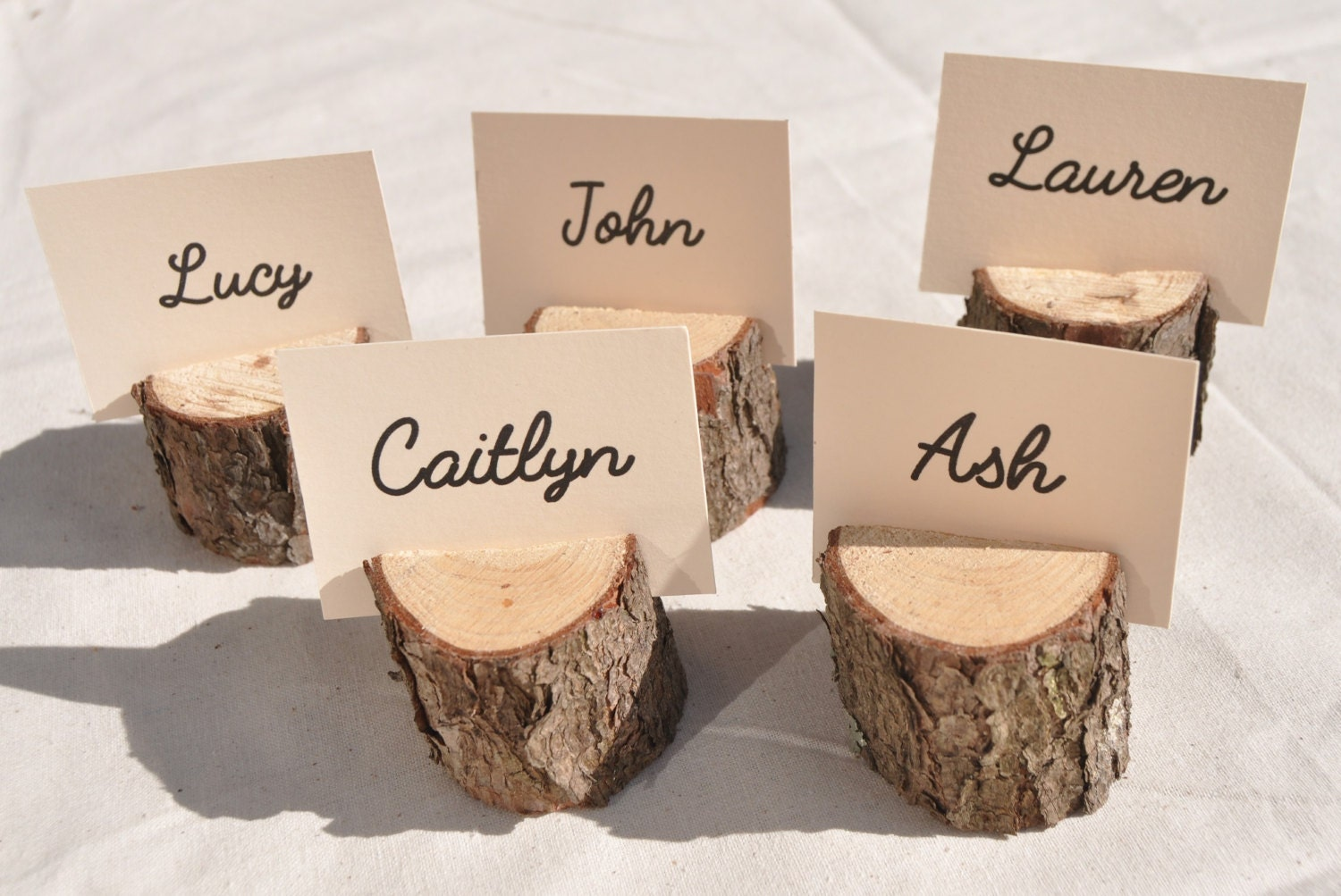 20 wood place card holders rustic place card holders with zoom reviewsmspy