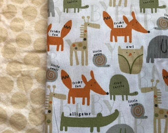 Frisky Fox Weighted Blanket