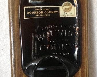 Bourbon County Stout Beer Opener Plaque