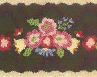 Meadow Bouquet by Acorn Quilt & Gift Company - Punchneedle / Needlepunch Pattern