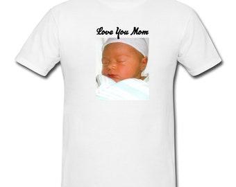 Photo T-shirt, Photo Tee, Personalized t-shirt, Custom Shirt