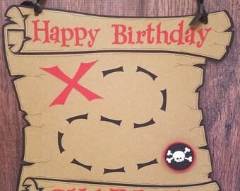 Pirate Door Sign