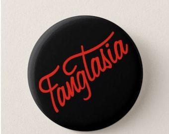 True Blood  -  Badge - Magnet - Fangtasia  - Quotes -  Fridge Magnet - Quotes -   TV - Vampire - Halloween - Costume