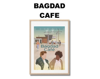 Bagdad Café (Out of Rosenheim) Movie Print - Poster A3