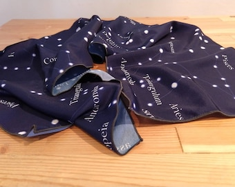 Constellations of the Northern Hemisphere Scarf - zodiac scarf