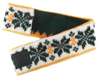 Green and Gold Green Bay Headband
