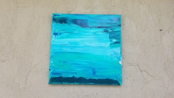 Teal abstract