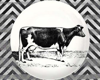 Holstein Cow plate