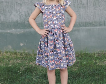 All Spice Dress PDF Pattern 6 - 12 Months to 12 Years