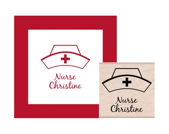 Nurse Personalized Rubber Stamp