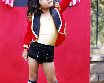 Boutique Custom Handmade Lion Tamer Costume Big Top Circus Pageants Photography Birthdays Sizes 6T-10  sc 1 st  Etsy & Boutique Custom Handmade Velvet Ringmaster Lion Tamer Circus