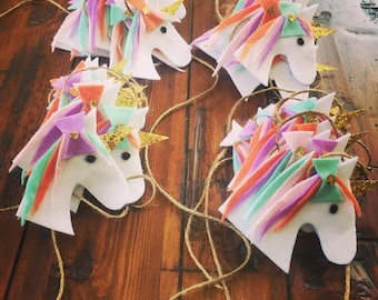 Unicorn Banner - Unicorn Garland