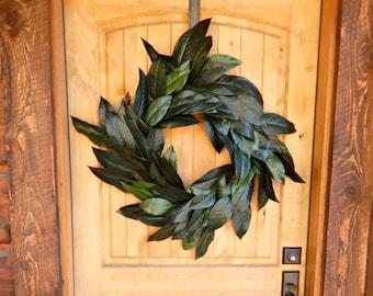 Magnolia Wreath-Fall Wreath-Square MAGNOLIA Door Wreath-Outdoor Wreath-Rustic Door Wreaths-Housewarming Wreath-Wedding Gift-Custom Gifts